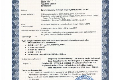 01.09.2012 -  Integral Certyfikat