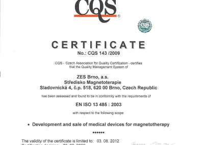 03.08.2009 -  Integral Certyfikat 1