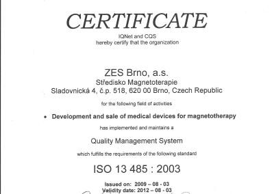 03.08.2009 -  Integral Certyfikat