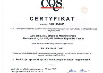 03.08.2015 -  Integral Certyfikat