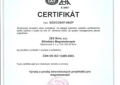 07.08.2009 -  Integral Certyfikat
